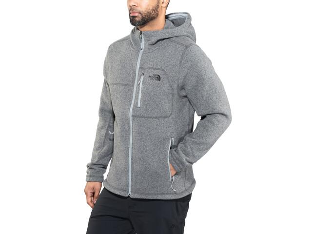 The North Face Gordon Lyons Hoody Jacket Herr tnf medium grey heather